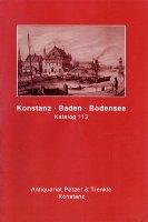 Katalog 113: Konstanz, Baden, Bodensee