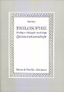 Katalog 2: Philosophie. Literaturwissenschaft, Theologie, Pädagogik, Psychologie