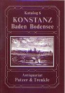 Katalog 6: Konstanz, Baden, Bodensee, Regionalliteratur