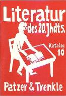 Katalog 10: Literatur