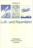 Katalog 13: Luft- und Raumfahrt