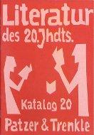 Katalog 20: Literatur
