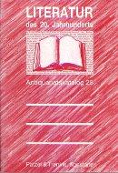 Katalog 25: Literatur