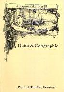 Katalog 28: Reise und Geographie