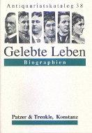Katalog 38: Biographien