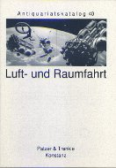 Katalog 40: Luft- und Raumfahrt