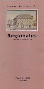 Katalog 131: Orts- und Landeskunde aus dem deutschen Südwesten