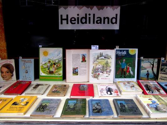 Fenster Heidiland